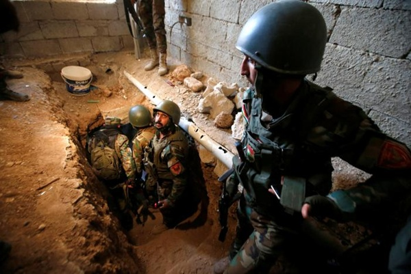 ขุมทรัพย์จักรวรรดิอัสซีเรียที่ซุกซ่อนในอุโมงค์กลุ่มรัฐอิสลาม