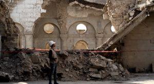 ชาวคริสต์และมุสลิมจับมือบูรณะเมืองโบราณของอิรักที่ถูกไอเอสทำลาย